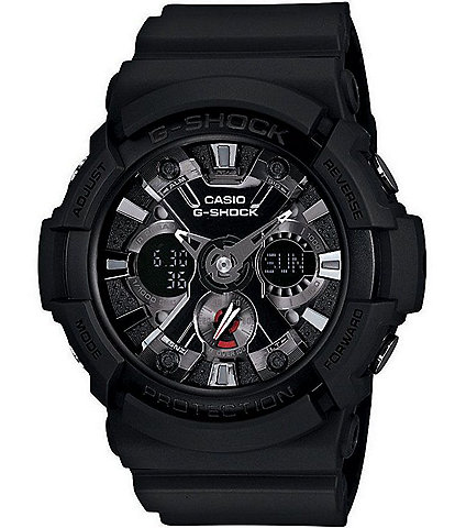 G-Shock XL Black Ana-Digi LED Watch