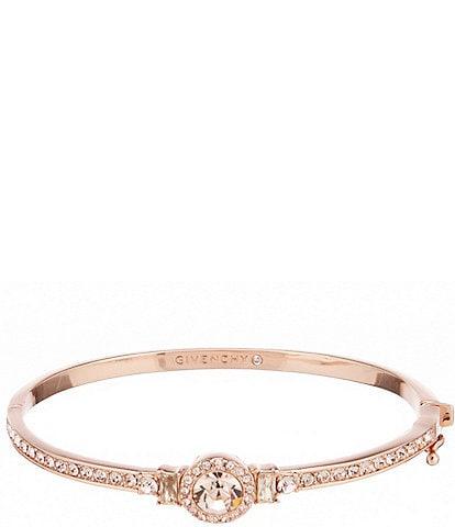 Givenchy Rose Gold Round Bangle