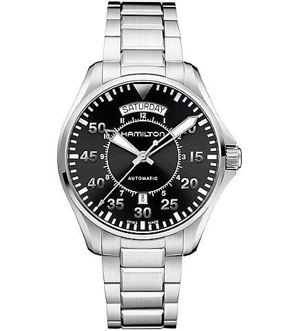 Hamilton Khaki Pilot Mechanical Automatic Watch