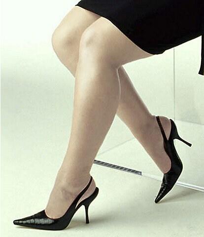 Hanes Silk Reflections Plus Control Top Enhanced-Toe Pantyhose