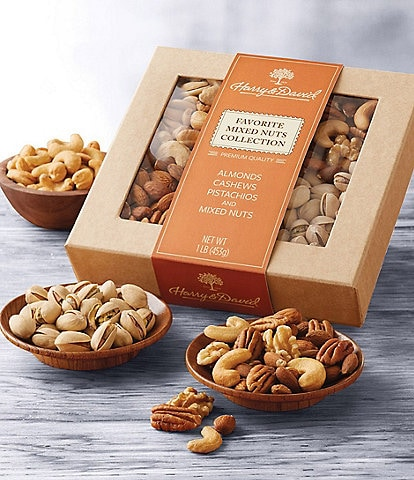 Harry and David Favorite Mixed Nuts Collection