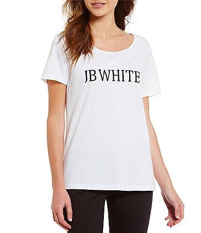 Heritage #double;J.B. White#double; Logo Crew Neck Short Sleeve Tee