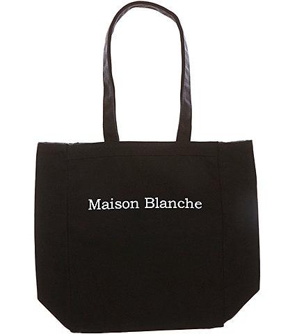 Heritage Maison Blanche Logo Tote Bag