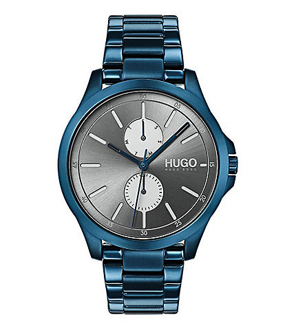 HUGO HUGO BOSS #Jump Multifunctional Blue Watch