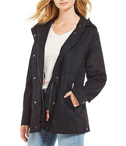 Hunter Original Cotton Smock Water Resistant Rain Jacket