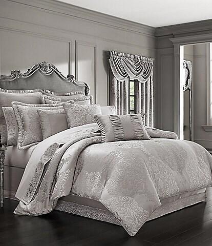 J. Queen New York La Scala Silver Comforter Set