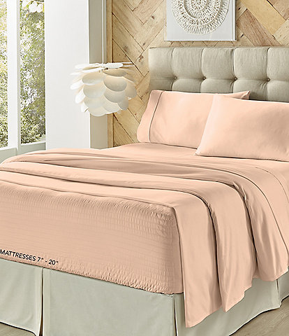 J. Queen New York Royal Fit 500-Thread Count Sheet Set