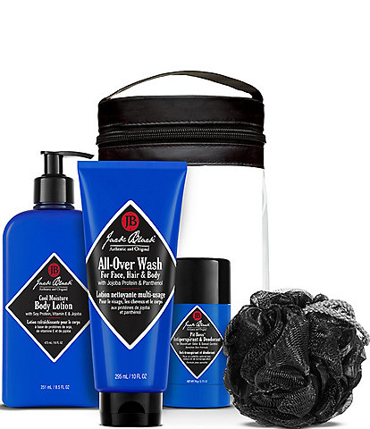 Jack Black Clean & Cool Body Basics Set