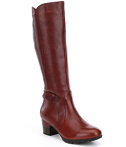 Jambu Chai Water Resistant Block Heel Tall Riding Boots