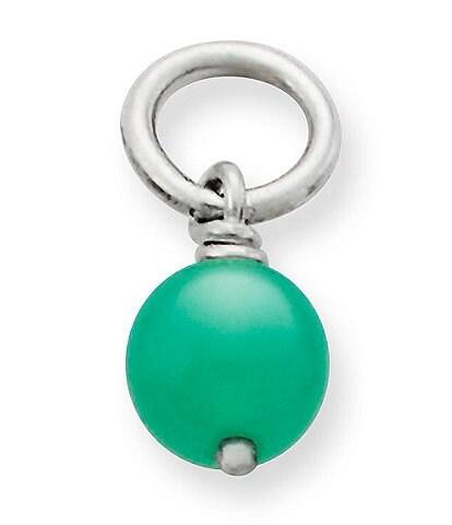 James Avery Enhanced Gemstone Bead Charm
