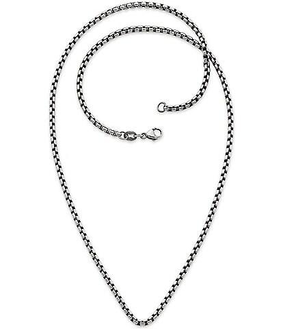 James Avery Heavy Box Chain Necklace