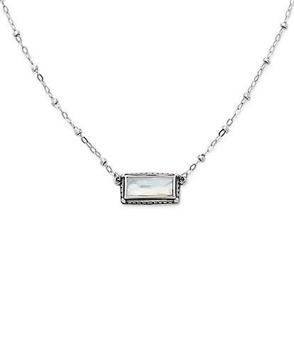 James Avery Palais Blanc Doublet Necklace