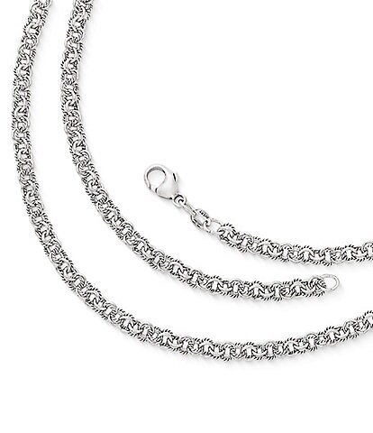 James Avery Twisted Wire Double Link Chain