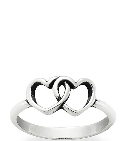 James Avery Two Hearts Together Ring