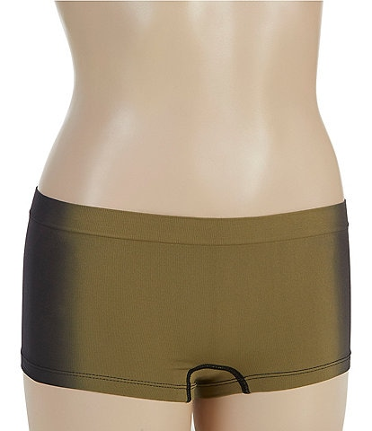 Jasmine & Ginger Seamless Vertical Dip-Dye Boy Shorts