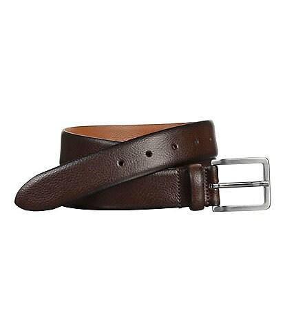 Johnston & Murphy Men's Feather Edge Dress Belt