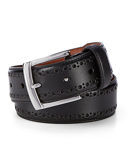 Johnston & Murphy Perforated Belt