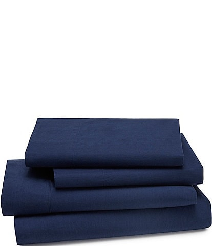 Kassatex Lorimer Washed Percale Sheets