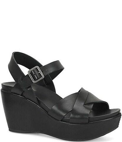 Kork-Ease Ava 2.0 Ankle-Strap Wedge Sandals