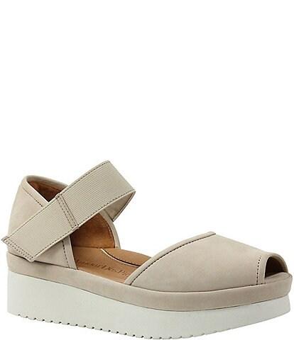 L Amour Des Pieds Amadour Suede Sandals