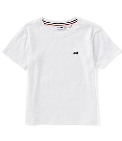 Lacoste Big Boys 16-20 Short Sleeve Crew Neck Tee
