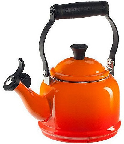 Le Creuset 1.25-Quart Enameled Steel Demi Tea Kettle