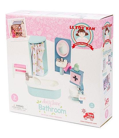 Le Toy Van Honeybake Daisy Lane Bathroom Furniture Set