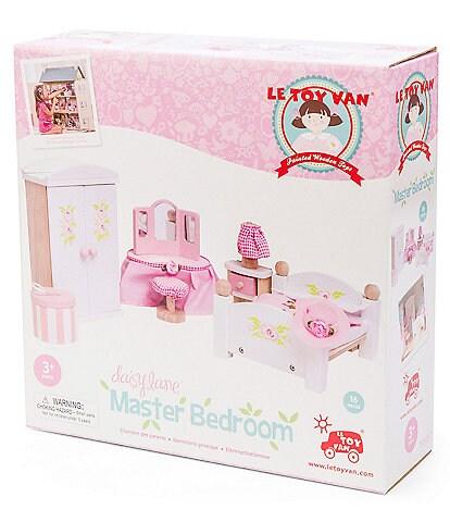 Le Toy Van Honeybake Daisy Lane Master Bedroom Furniture Set