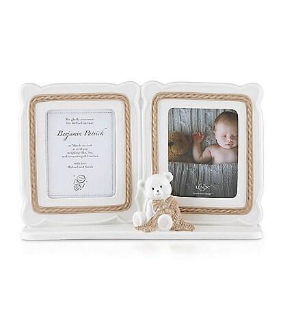 Lenox Baby Bear Double Photo Frame
