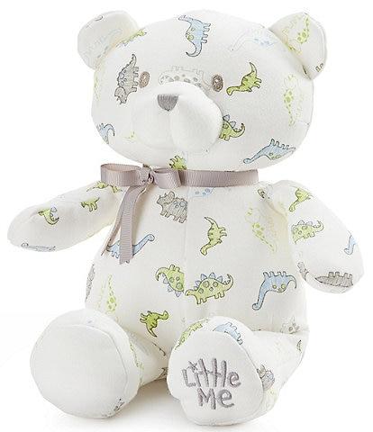 Little Me Baby Boys Tiny Dinosuar 10#double; Plush Teddy Bear