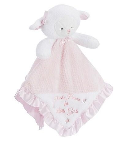 Little Me Baby Girls Thank Heaven For Little Girls Lamb Snuggle Buddy