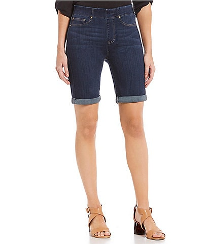 Liverpool Jeans Company Chloe Pull-On Bermuda Shorts