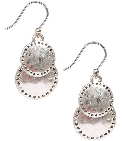 Lucky Brand Double Drop Earrings