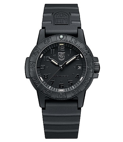 Luminox Sea Turtle Analog & Date Signature-Strap Watch