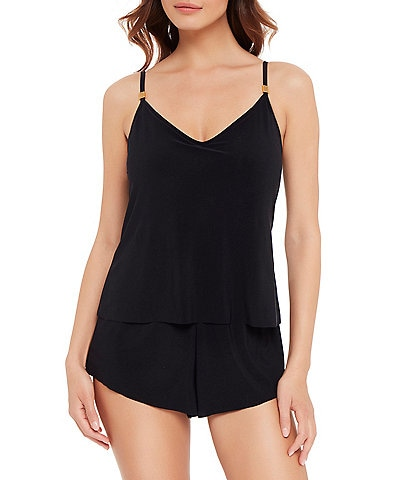 Magicsuit Solid Mila Romper Shaping One Piece