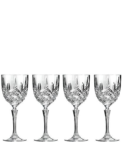 Marquis by Waterford Markham 4-Piece Traditional Crystal Wine Glass Set