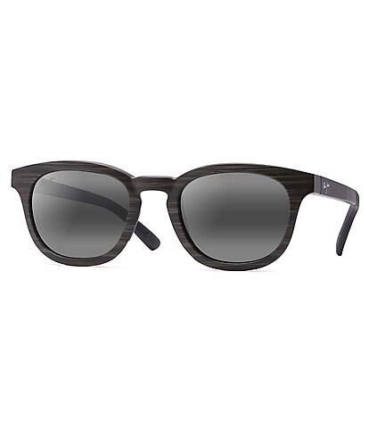 Maui Jim Koko Head Polarized Mirrored Round Sunglasses