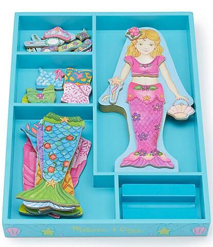 Melissa & Doug Girls Mermaid Magnetic Dress-Up Set