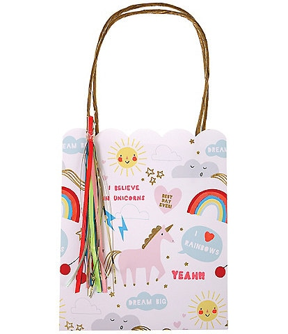 Meri Meri 8-Pack Unicorn Party Bags