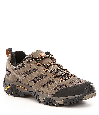 Merrell Men's Moab Ventilator 2 Suede & Mesh Lace-Up Hiking Shoes