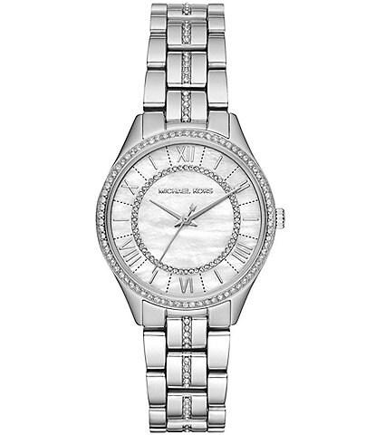 Michael Kors Women's Mini Lauryn Stainless-Steel Watch Case