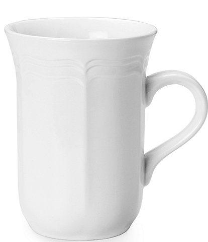 Mikasa Antique White Porcelain Cappuccino Mug