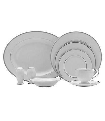 Mikasa Cameo Platinum Porcelain China