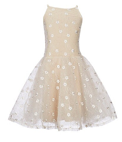 Miss Behave Big Girls 8-14 Josie Lace Fit-And-Flare Dress