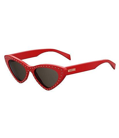Moschino Stud Cat Eye Sunglasses