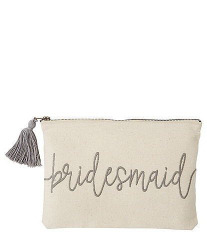 Mud Pie Bridesmaid Carry-All Pouch/Bag