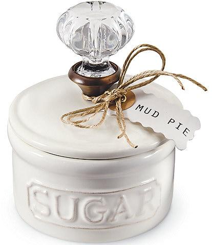 Mud Pie Circa Vintage Doorknob Sugar Bowl