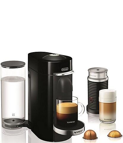 Nespresso by Delonghi Vertuo Plus Deluxe Coffee & Espresso Maker with Aerocinno