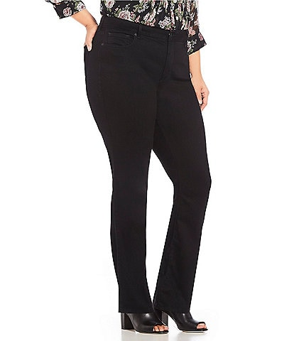NYDJ Plus Size Marilyn Straight Leg Jeans
