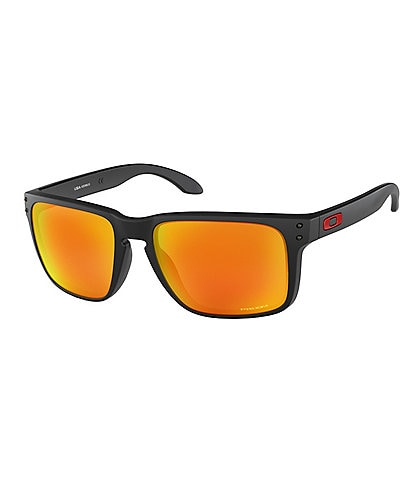 Oakley Mens Orange Holbrook XL Sunglasses